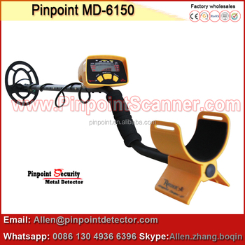 Pinpoint factory underground gold detector md-6150 with >25cm sensitivity