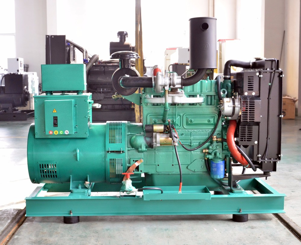 2018 Hot 50kw 62 5kva Brushless Ac Generator 3 Phase Price