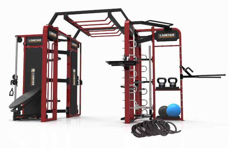 Crossfit Rack Multi Station Gym Equipment
