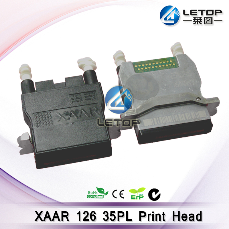 Brand New Solvent Printer Printhead xaar 126/35 printhead XJ126/35pl Widely suitable for Wit-color and other Outdoor Printer