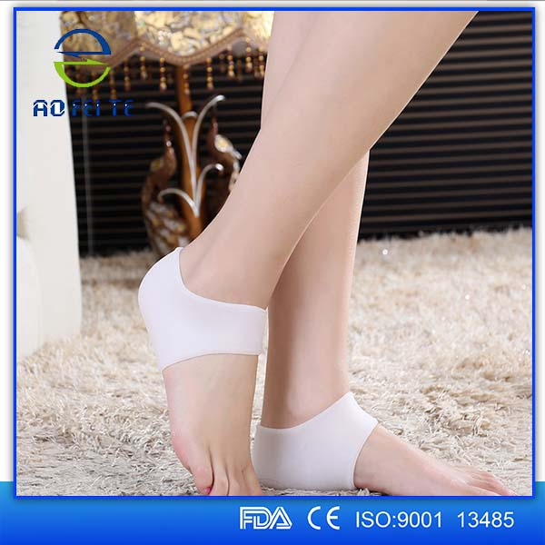 Silicone Soft Gel Heel Protector - Reduce Heel Shock,Joint Pain - 2 Pcs.
