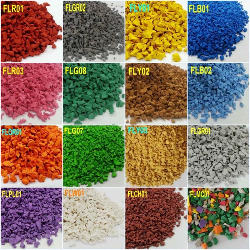 Epdm Rubber Scraps Rubber Powder Colored Epdm Rubber