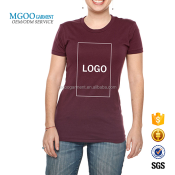 89b22037 High Quality Custom Brand Name Tshirts For Business Women Fitness Tops  Front Printing T Shirt