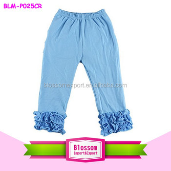 1821cffe9 Wholesale baby girls icing ruffle pants in stock kids cotton icing petti  pants puffy children baby