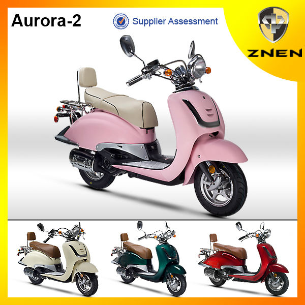Znen Motor - The Most Popular Scooter And 2017 Best Seller With 50cc,125cc  And 150cc - Buy Gas Scooter,The Most Popular In Europe,Retro Design Product