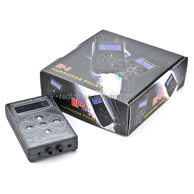 100% Asli Perlengkapan Tattoo Power Supply Hurricane HP-2 Tato Power Supply