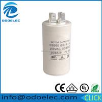 AC / Motor Application and Polypropylene Film Capacitor Type motor starting capacitor