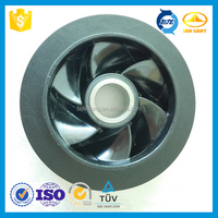 PPS Plastic Water Pump Impeller Design Small Water Pump Impeller