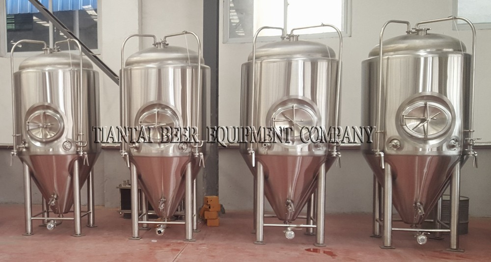 7 Bbl Brewery Skid Mounted Brewpub Equipment For Sale