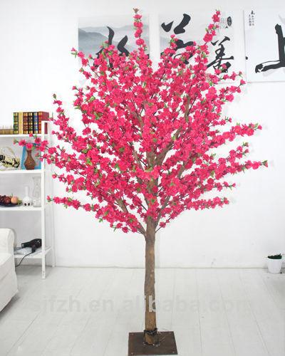 de alta calidad de la decoracin artificial flor de durazno de los