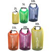 5l 10l 20l 25l transparent boating 500D PVC waterproof dry bag