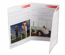 Commercial leaflet printing