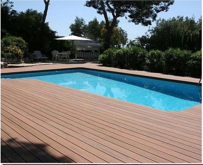 Waterproof Poolside Decking Anti Slip Swimming Pool Wpc Decking Floor Buy Waterproof Poolside