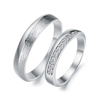 Platinum Wedding Ring Sets Matching Couples Rings For Engagement