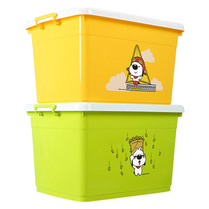 All sizes rectangle plastic toys storage containers,30L-280L plastic storage containers for home use