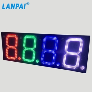 Hot Product! Outdoor 7 segment Digital led gas price sign / led oil station display / led fuel gasoline board panel