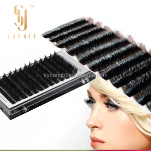 High quality materials eyelash extension wholesale, colored eyelash extensions