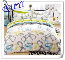 100% polyester widely used microfiber pigment printed home textile bedsheet fabric