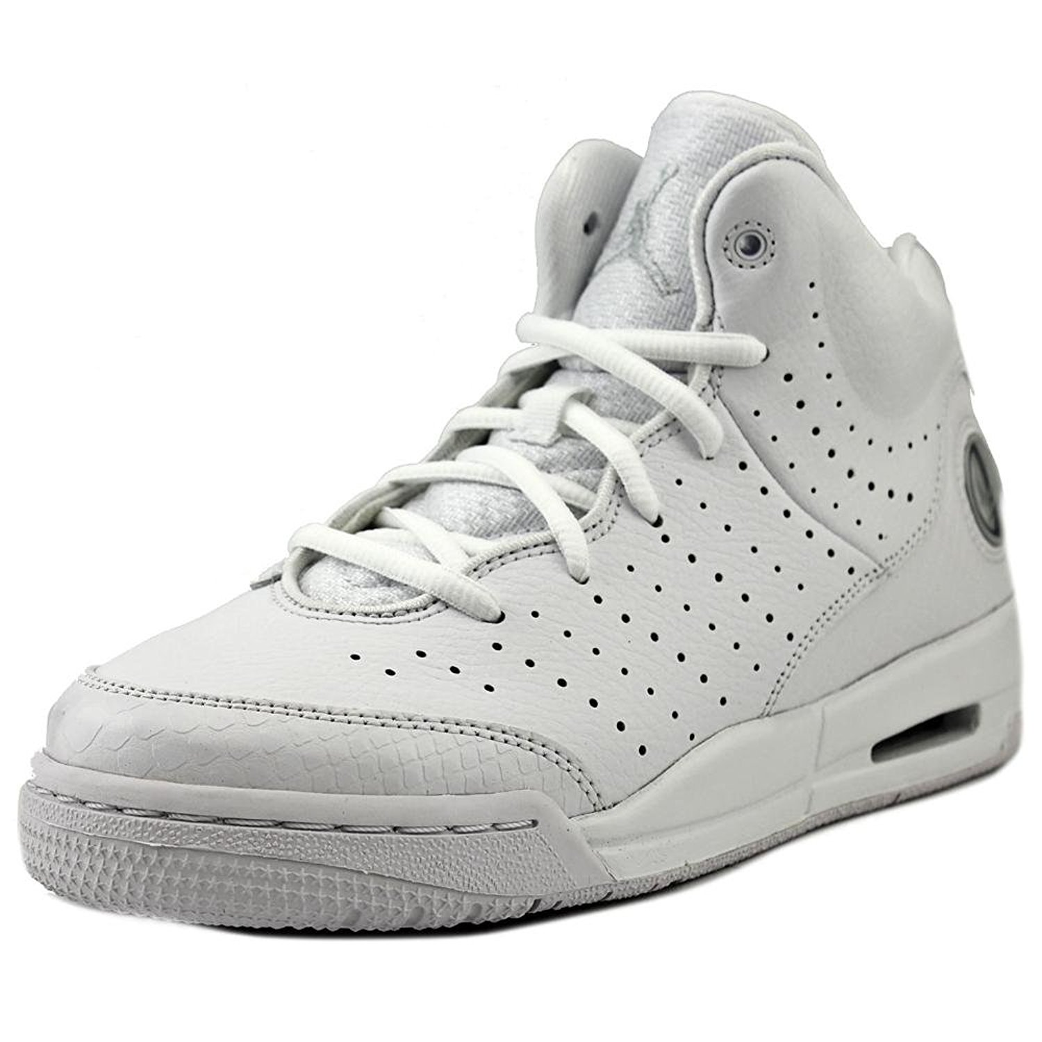 bbcafaeec4e5 Get Quotations · Nike Youths Jordan Flight Tradition Leather Trainers