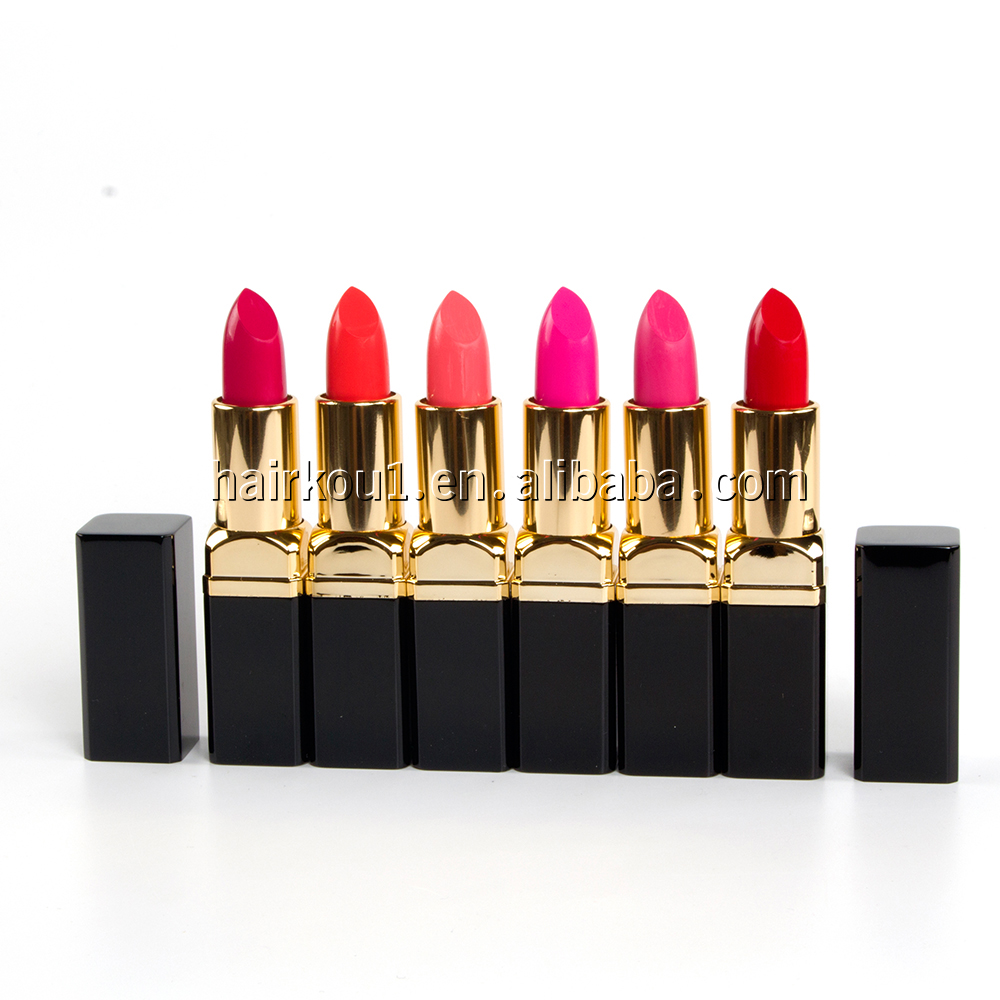 Hot Selling Private Label Matte Waterproof lips care Cosmetics vivid Lipstick for lips makeup