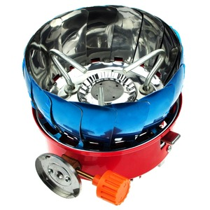Windproof Hiking Folding Mini BBQ Camping Gas Stove