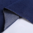Fashion women twill recycled knitted denim fabric wholesale