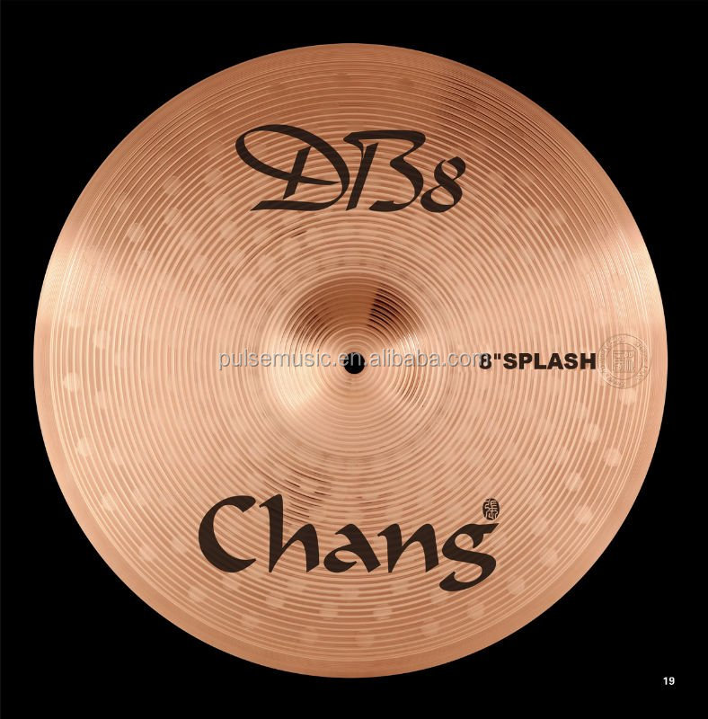 Chang DB8 Series 8''Splash Cymbal For Drum Set/Musical Instrument