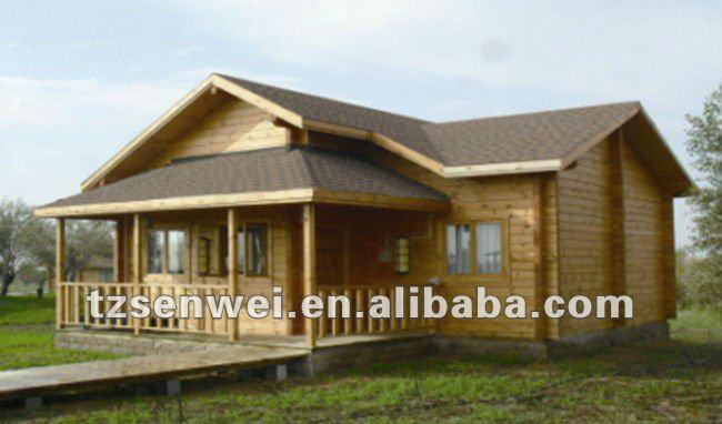 Houten chalet huis moderne houten huis mobiele villa for Mobiele chalet te koop