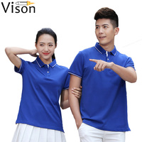 embroidery tshirt custom Design Polo Shirt cheap and quality bar hotel waiter uniform breathable custom tee shirts