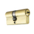 70mm euro profile brass lock cylinder