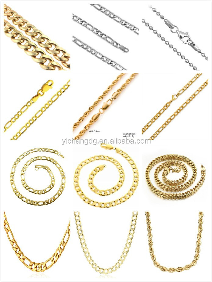 Latest Gold Chain Designs 2016,10 To 24 Gram Gold Necklace Designs ...