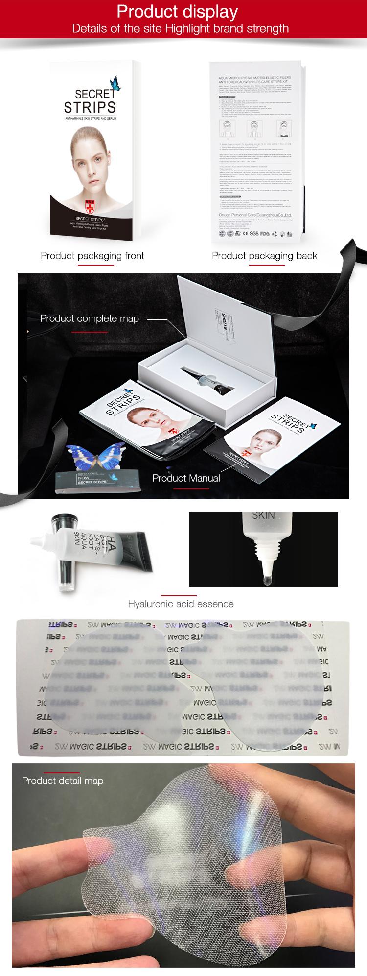 कार्बनिक त्वचा की देखभाल v लाइन चेहरा उठाने कोरिया चेहरे का मुखौटा
