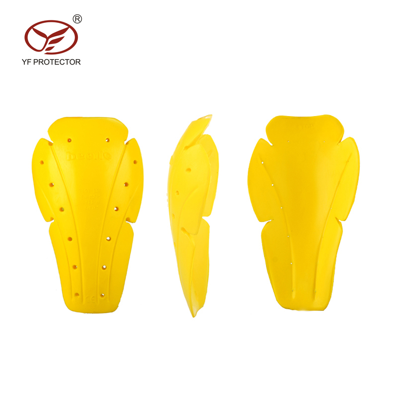 YF Protector Soft Foam Armor Niveau 1/2 Knie Protector Impact Protector Pad Motorfiets Knie Pad