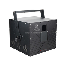 5 watt RGB di colore completo laser cartoon light system con 30Kpp scanner