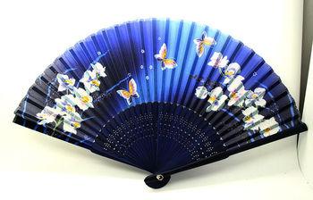 folding hand fan hand fan faux silk fake silk fan classic chinese