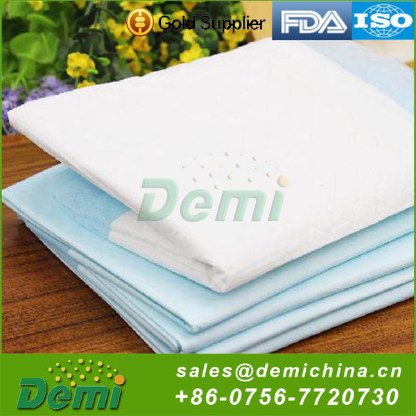 SAP non-woven material absorbent pet training pads with attractant
