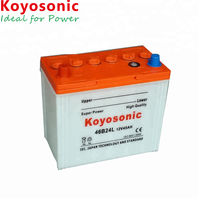 Japanese Standard Car Battery 12V 40AH Dry Battery Dry Charged Car Battery