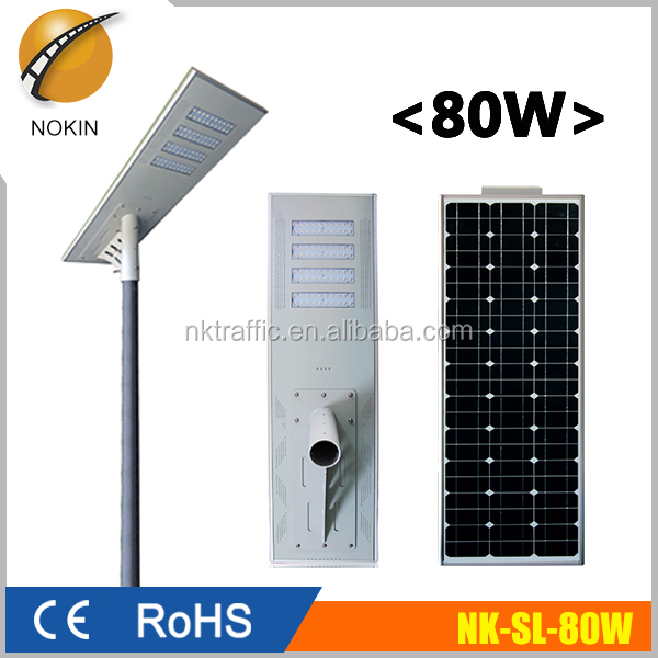 Integrated motion sensor solar led outdoor street <strong>light</strong>