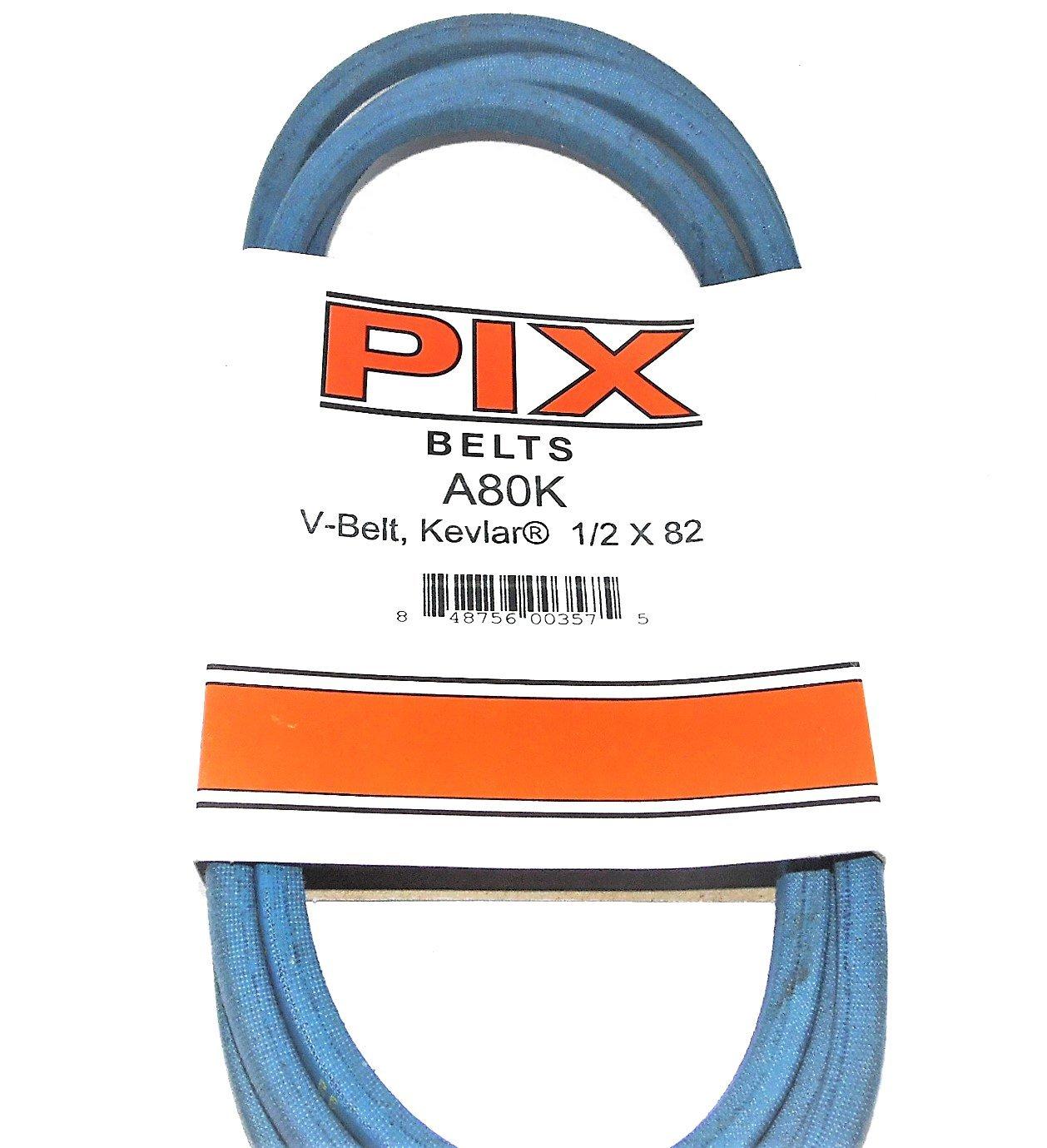 "KEVLAR wrapped Industrial & Lawn Mower Belt A80K 4L820K 1/2 X 82"" HEAVY DUTY --P#EWT43 65234R3FA539899"