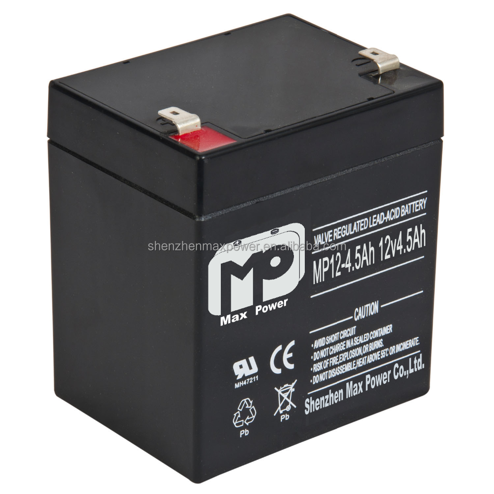 12v 4ah rechargeable lead acid agm battery