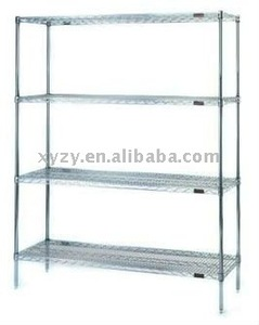 plastic coated carbon steel wire shelving