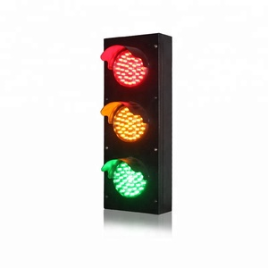 10 Years Factory Wholesale Price School Teaching 100mm Mini USB Traffic Light