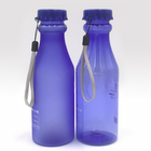 480ML 16oz BPA free sport soda water bottle with hand strap lanyard