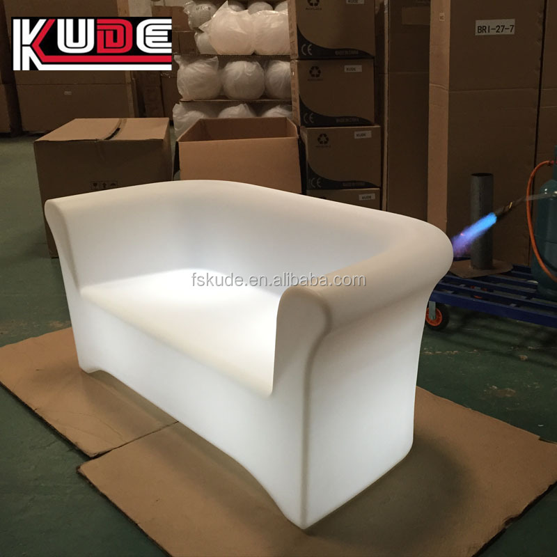 led company furniture blue parrot