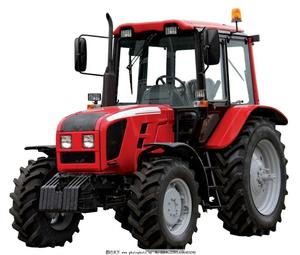 factory supply 4x4 drive farm mini wheeled tractor for agriculture
