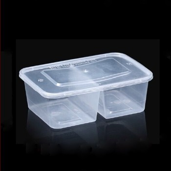 Plastic Food Compartment Containers