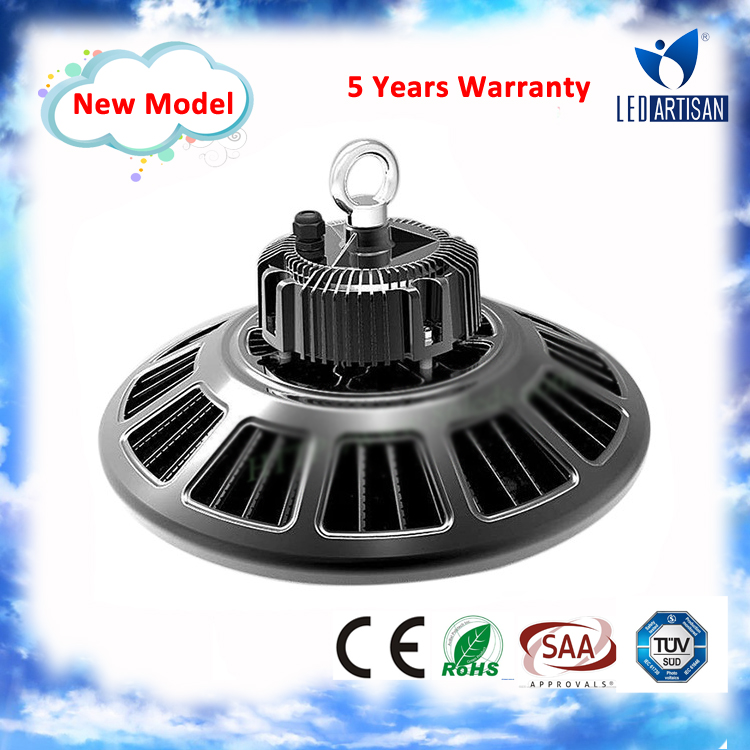 High Quality! ! Meanwell Driver led ufo led high bay 150w led high bay light long life 100000 hours