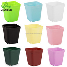 Modern design vase plastic flower pot trays