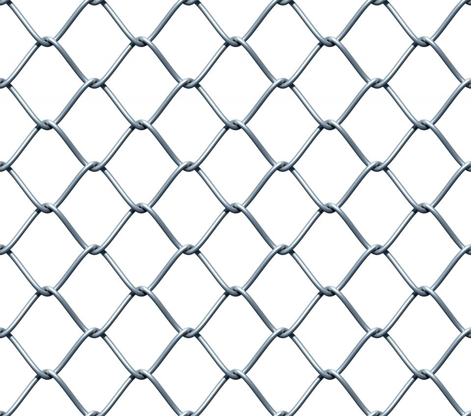high quality 2016 new product galvanized chain link fence fabric for garden