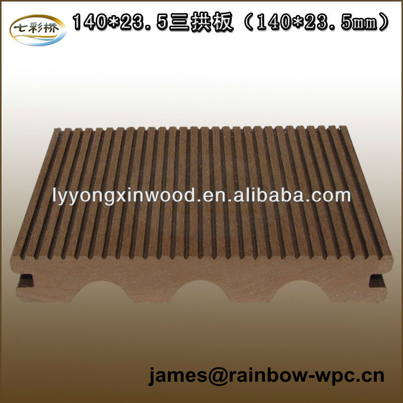 Lame De Terrasse Composite Including Joining Clips View Lame De Terrasse Composite Rainbow Bridge Product Details From Linyi Yongxin Timber Wpc